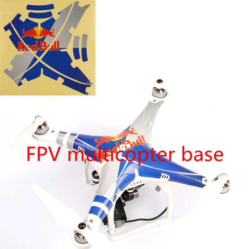 Fashion rc dji phantom 2 vision plus gps drone rc quadcopter 5 8g