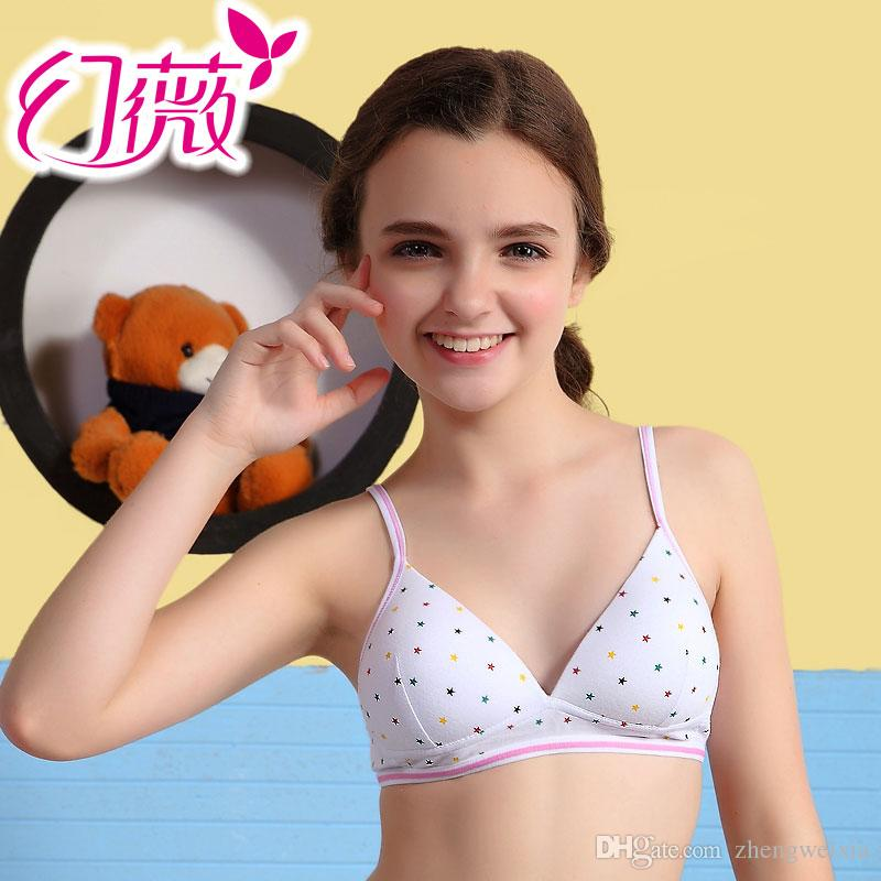 Wholesale Soft High Quality Young Girls Bra Kids Wireless Healthy ...