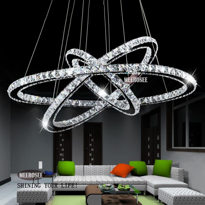 Modern Chandelier Hot Sale Diamond Ring Led Crystal Chandelier – Modern Chandelier Lights