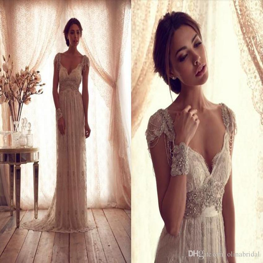 2016 sexy sweetheart wedding dresses vintage appliques for Vintage second wedding dresses