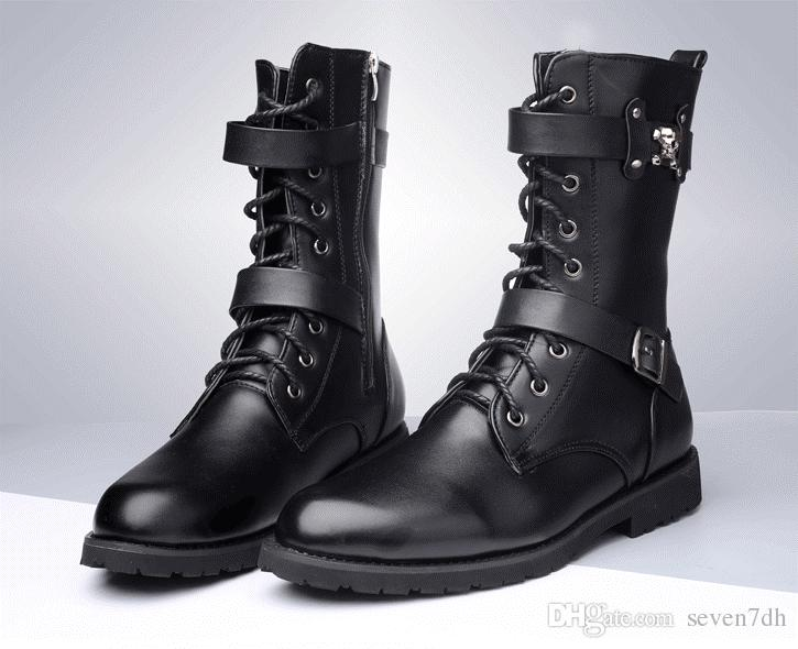 Black Men Boots - Cr Boot