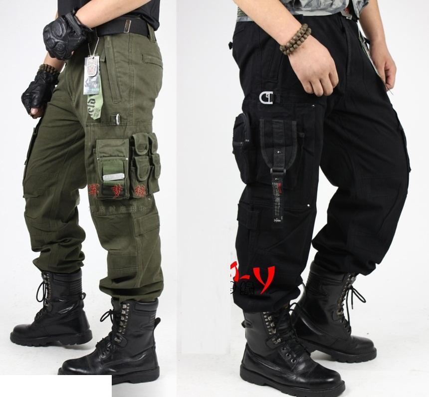 Online Cheap Men'S Cargo Pants Millitary Clothing Tactical Pants ...