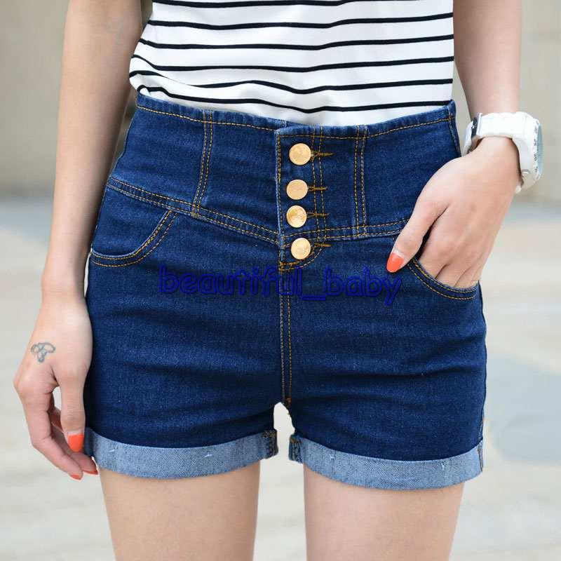 2017 Hot Sale Korean Style Women'S Denim Shorts Ladies' Short ...
