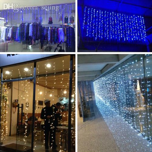 Wholesale Christmas Led String 3m X 3m Outdoor Party 360 Curtain ...
