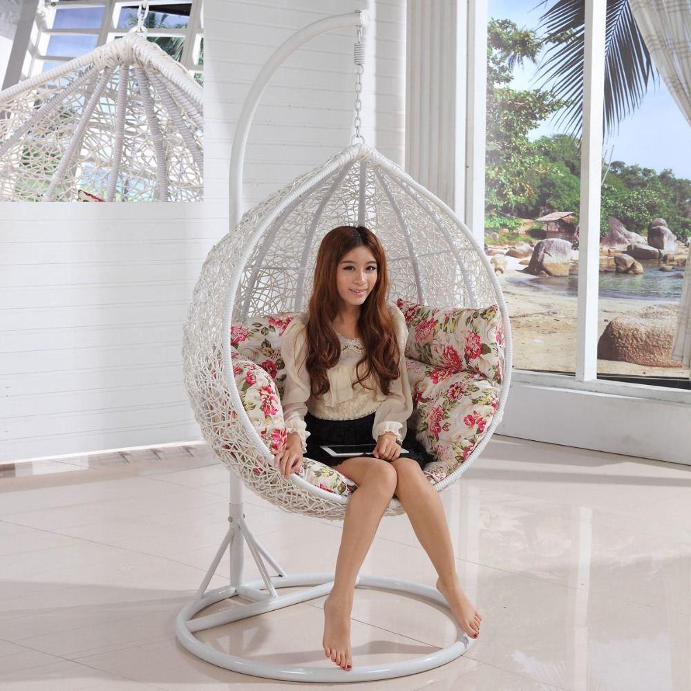 Swing Basket Hanging Chair Cradle