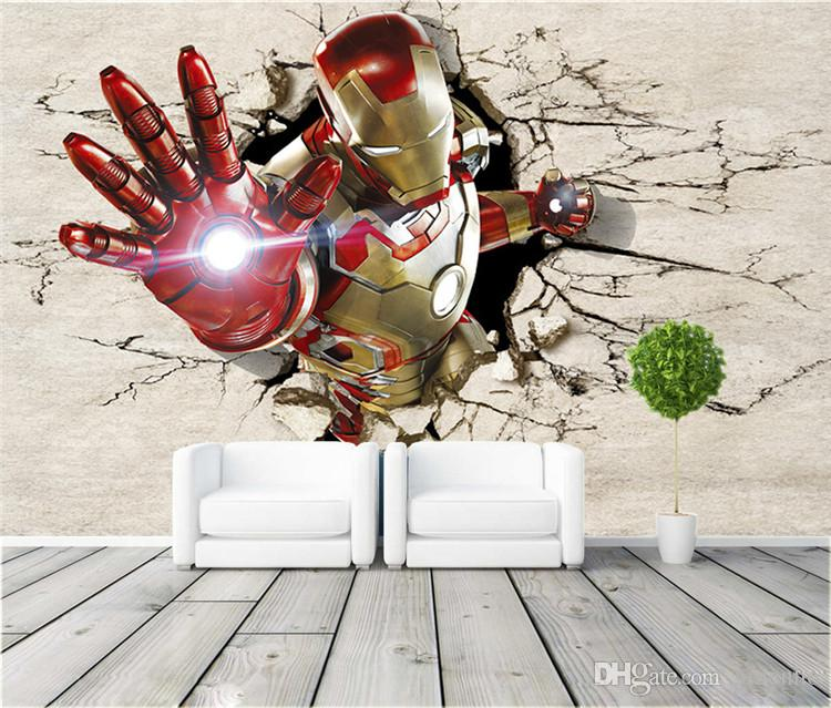 3d View Iron Man Wallpaper Giant Wall Murals Cool Photo