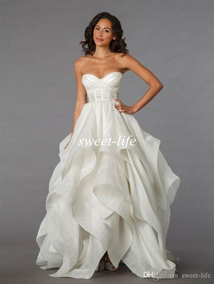 Modern Ball Gown Wedding Dresses 2015 Pnina Tornai Collection ...