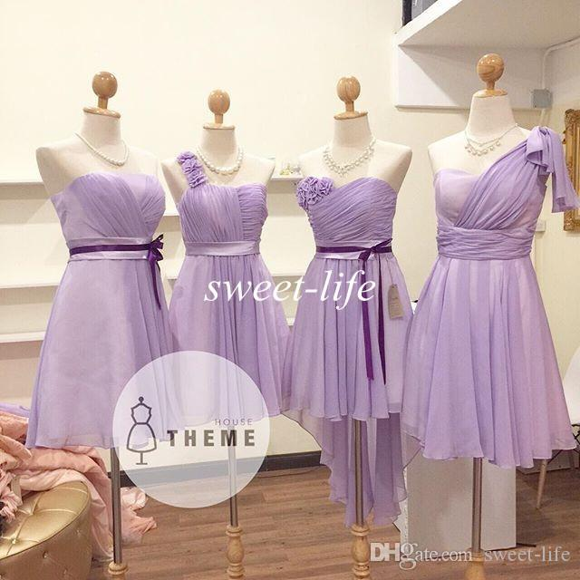 Affordable Lilac Bridesmaid Dresses 95