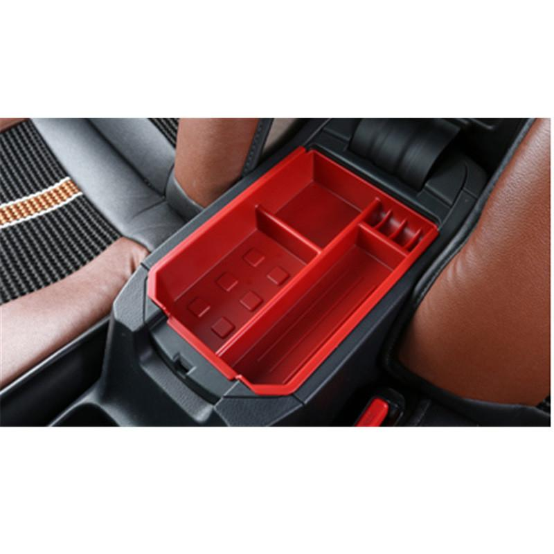 upgrade car armrest storage box glove box tray storage box for toyota rav4 xa40 2013 2014 2015. Black Bedroom Furniture Sets. Home Design Ideas