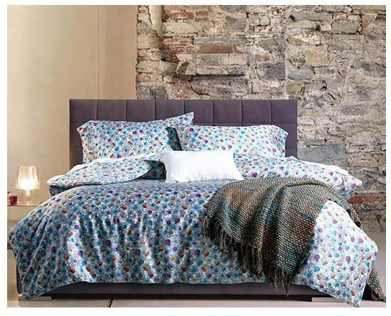 ... Colorful Dot Egyptian Cotton Bedding Set Luxury Sheets ...