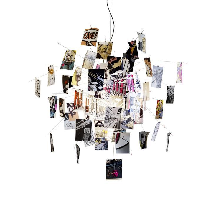 modern ingomaurer zettel'z chandelier creative calligraphy/cartoon, Lighting ideas