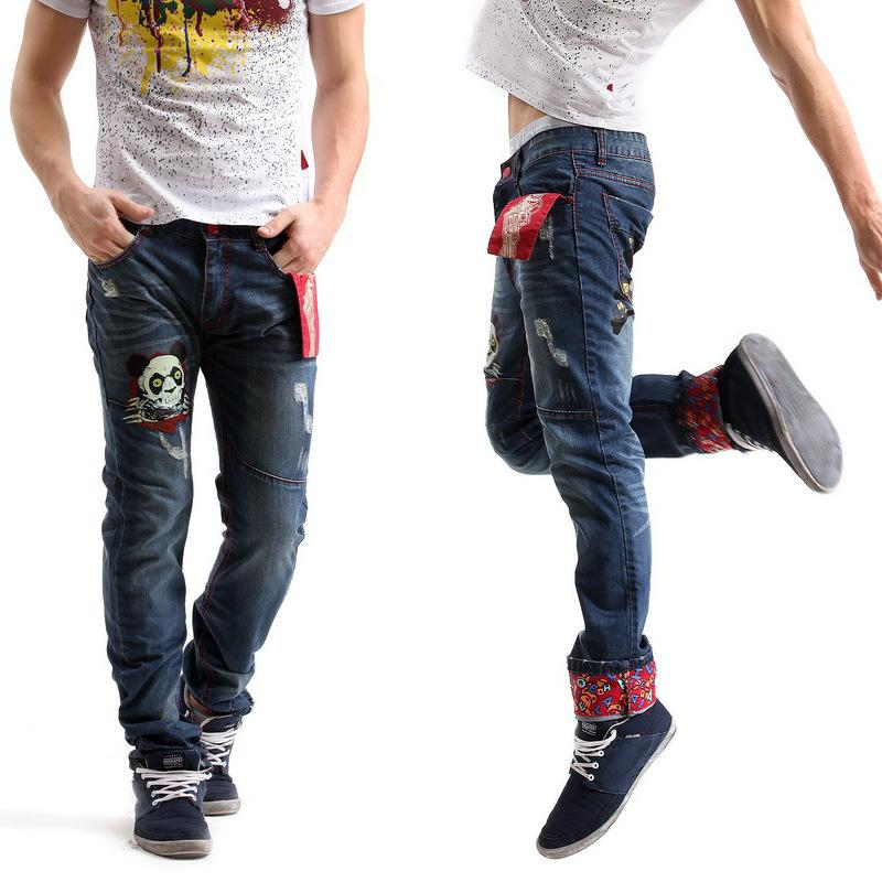 Online Cheap Good Quality Jeans!the New 2016 Spring Man Jeans High