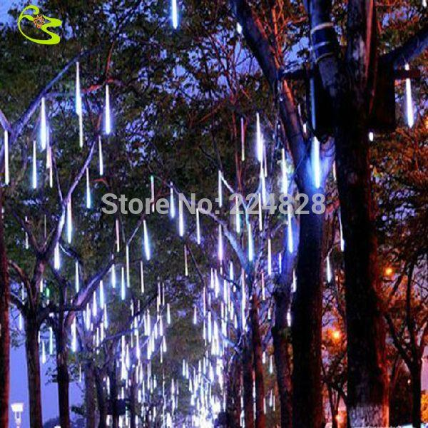 Best quality high quality led raining tube christmas for Quality outdoor christmas decorations