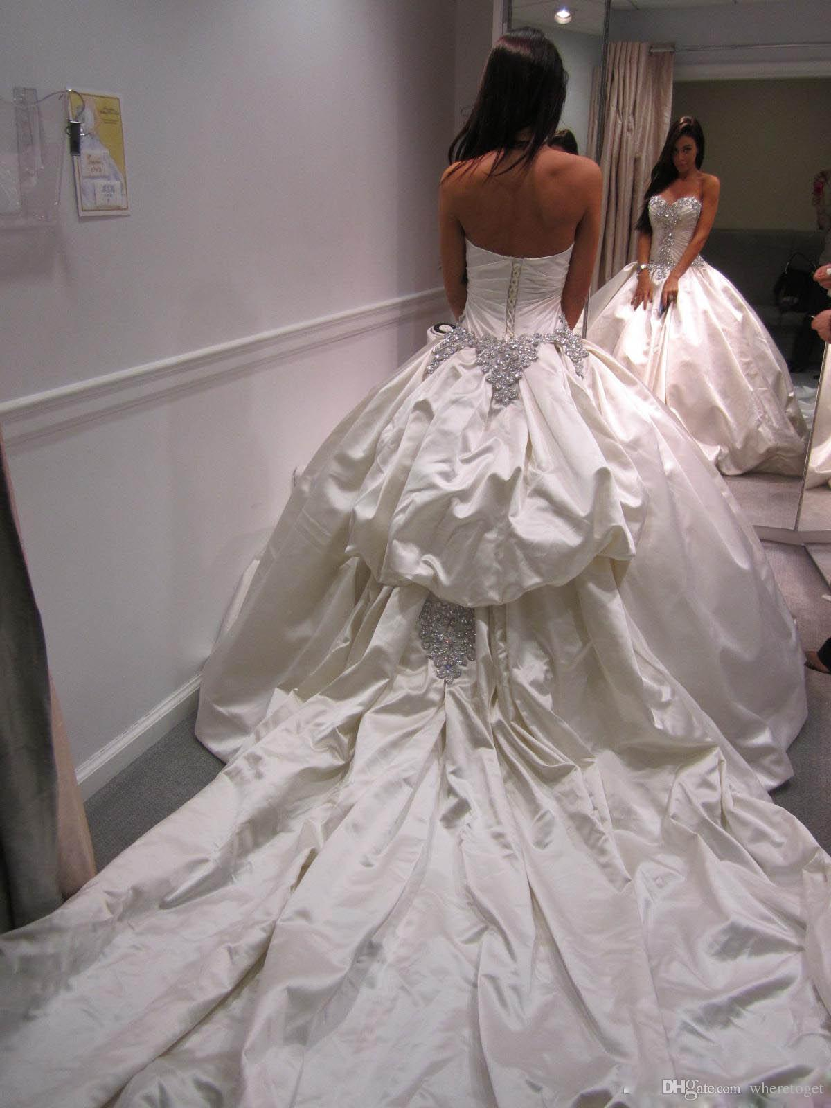 Свадебные платья без лиц