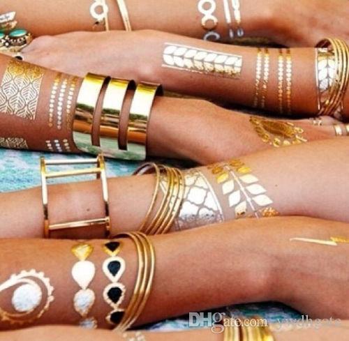 Золотые наклейки своими руками 21