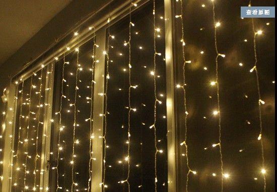 Flashing Lights String Quartet : Cheap 3m * 1.5m Small Christmas Tree Lights Flashing Led Holiday String Wedding Stage Curtain ...