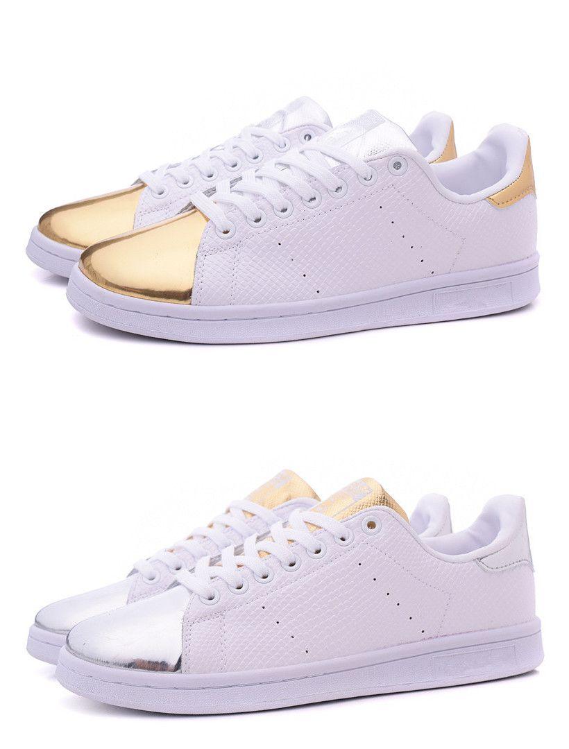 Adidas Stan Smith Silver Gold herbusinessuk.co.uk 80a409ede6c6