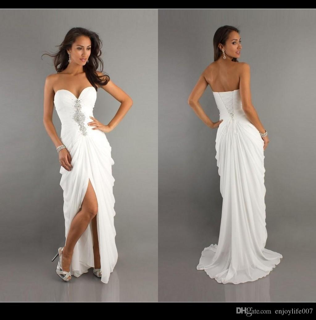 There are a lot of times when you will want to wear a white dress. Naturally, this will be an option on your wedding day. However, it may also be great for church.