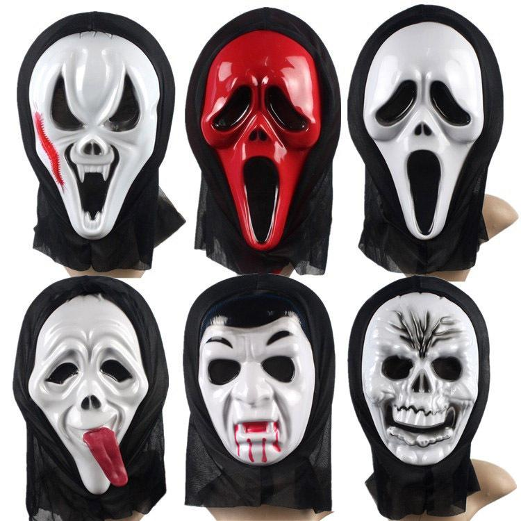 halloween maskadult and big children cosplay maskcostume ballparty suppliesdvil scream ghost mask halloween mask online with 151piece on andylifes - Halloween Party Store