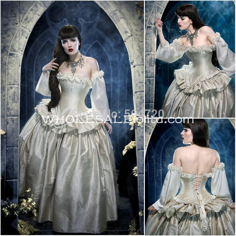 Sexy Victorian Ball Gowns