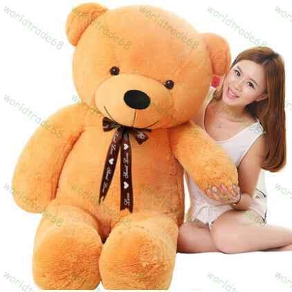 online cheap cheap 100cm giant teddy bear plush toy big stuffed animals kids peluches brinquedo. Black Bedroom Furniture Sets. Home Design Ideas