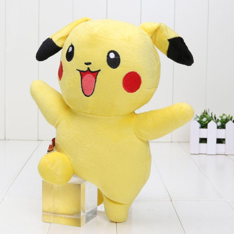 Soft Toys With Pockets : Cm game toy pocket pikachu plush brinquedo cute