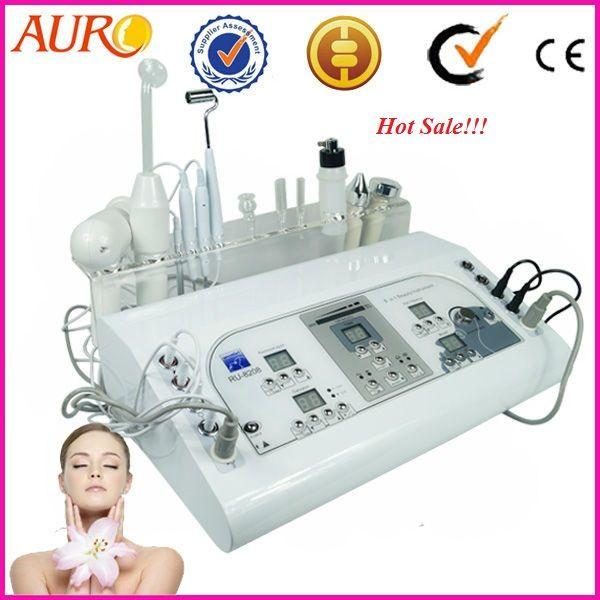 Au 8208 profession galvanic facial machine vacuum spray for A and m salon equipment