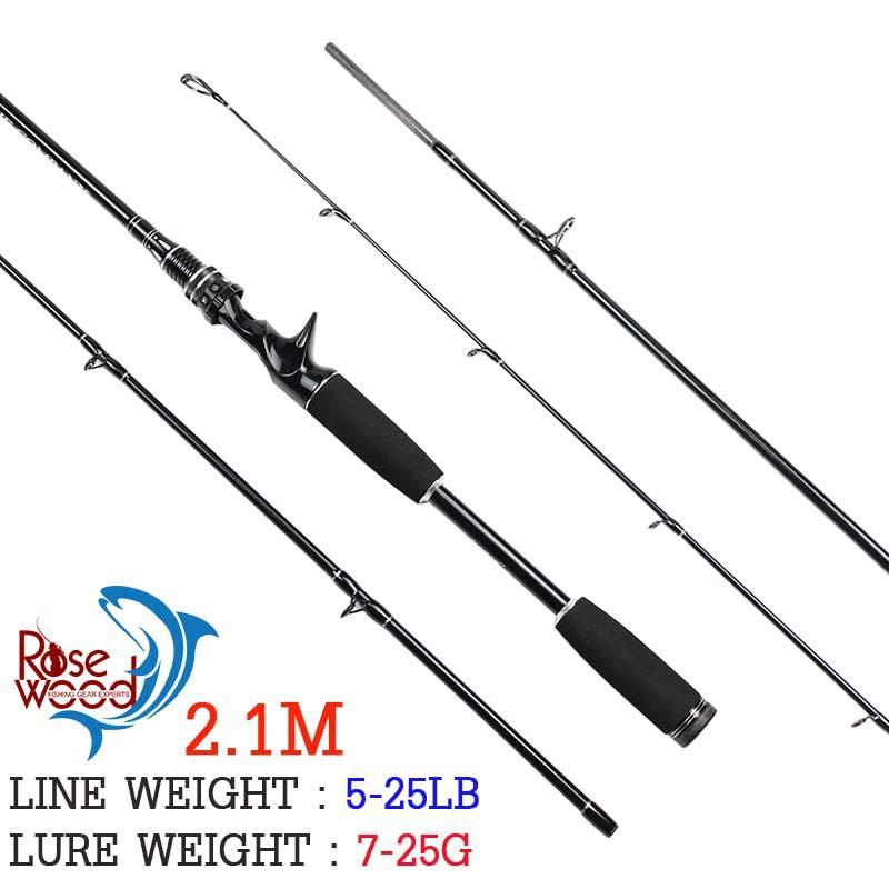 cheap 2.1m fishing rods carbon firber best casting fishing rod, Reel Combo