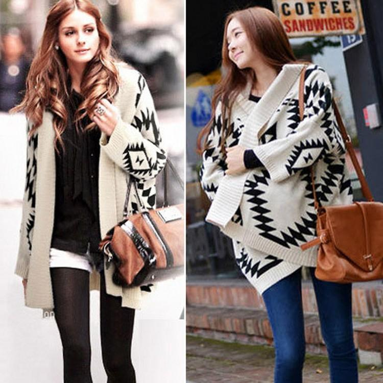 2017 Hot Sale 2015 Newest Fall Loose Knitting Cardigan Sweaters ...