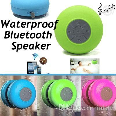 brand new mini portable waterproof bluetooth speaker with mic for hand free call wireless shower speaker with suction jf 3 wireless tv speakers best