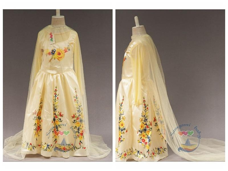 Princess Cinderella Wedding Dress Costume Cinderella Party Dress