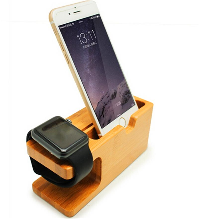 Phone Holder For Apple Watch QI Wireless Charger Holders ...