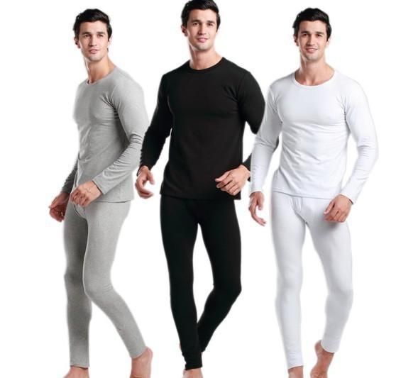 2017 Men'S Modal Thermal Underwear/Doublet Johns/Long Johns/Winter ...