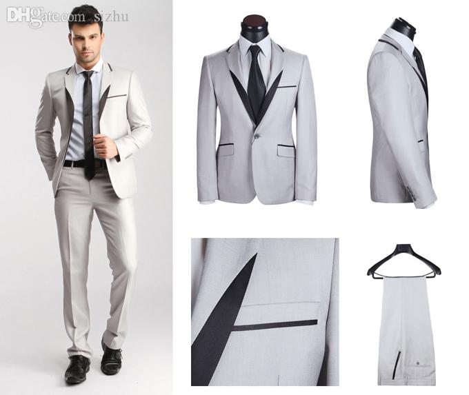 2017 Wholesale Western Style 2015 New Designer Wool Suits For Men