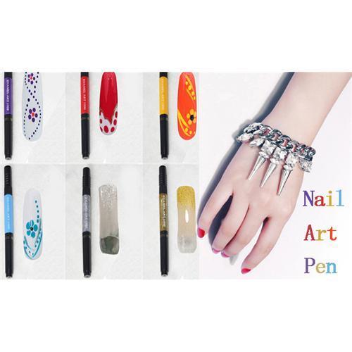 Diy nail art supplies colored drawing pen tools ladies girls nail diy nail art supplies colored drawing pen tools ladies girls nail polish oil set painting finger point pen flower pull pen nail art pen nail drawing pen prinsesfo Images