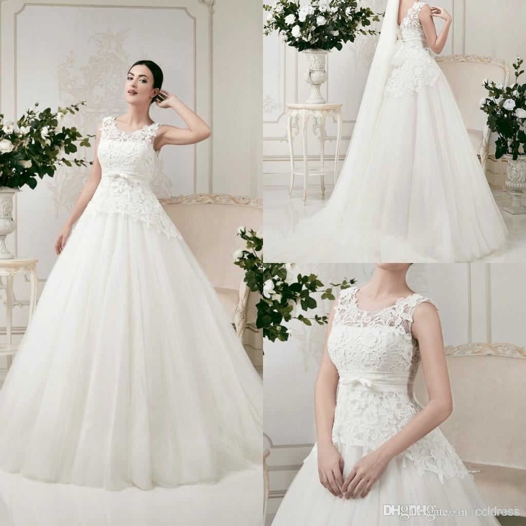Robe de mariée Pays