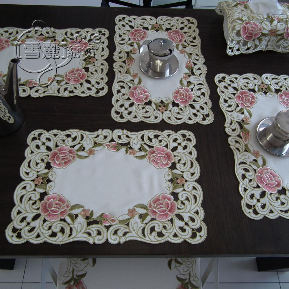 Tablecloths For Dining Room Tables Rustic Cloth Embroidery Fashion Dining Table Cloth Table Mat Dish