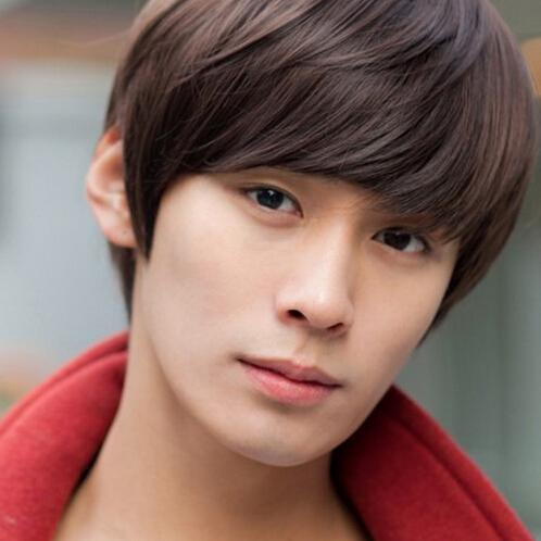 short brown black wigs for handsome man high quality cool