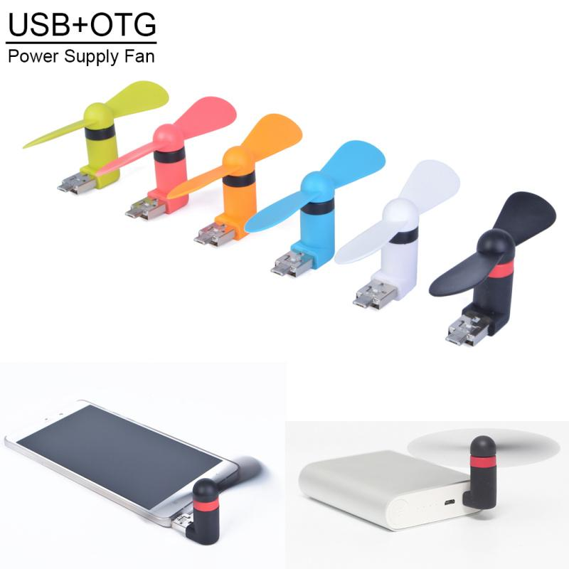 Mini Usb Dock Fan For Iphone Cellphone Mini Cooler Rotary