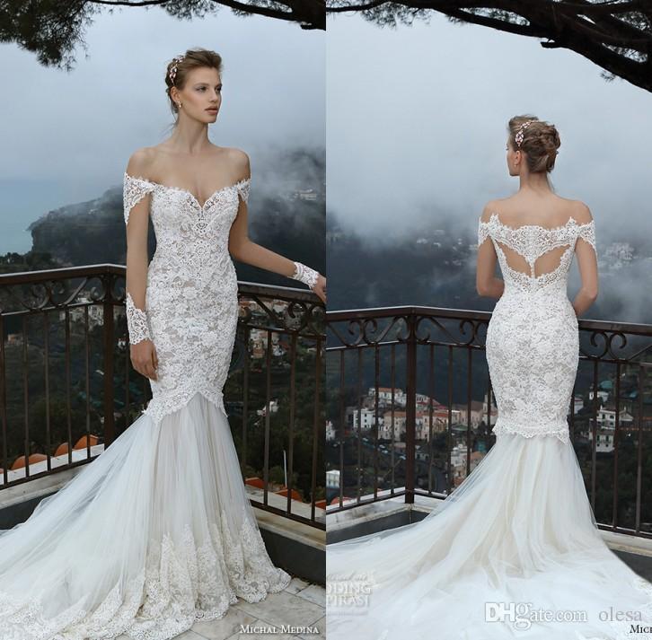 New Lace Plus Size Wedding Dress 2016 Beautiful Long ...