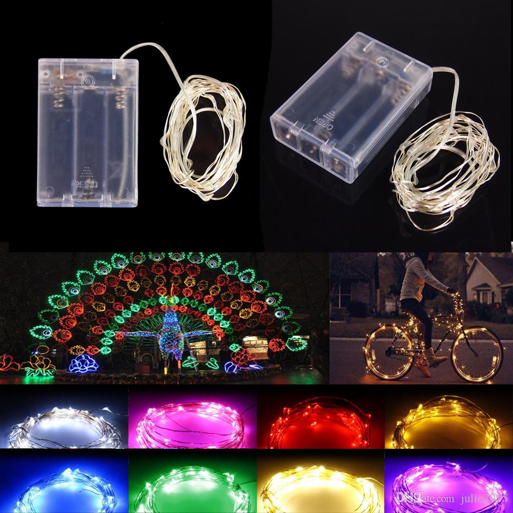 Battery Operated String Lights In Bulk : Wholesale Led String Light 4m 40leds Waterproof Mini Fairy Lights Battery Power Operated ...