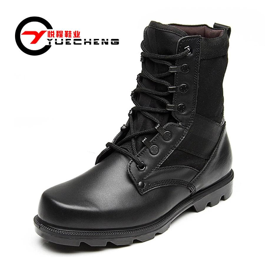Female Girls Combat Boots For Women/Men Leather Army Military ...