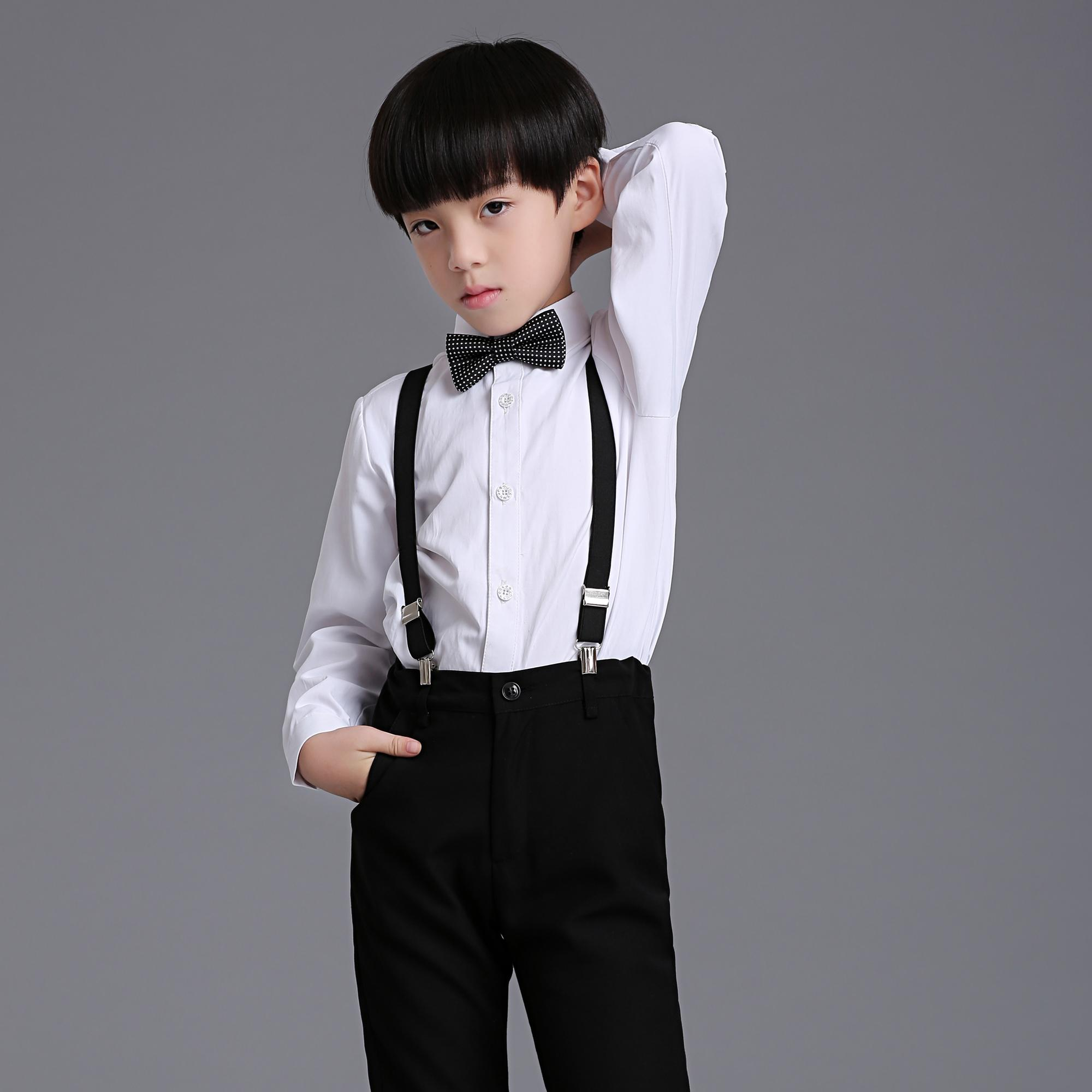 High End New Children Boy Dress Rompers Suit Dress School Prom ...