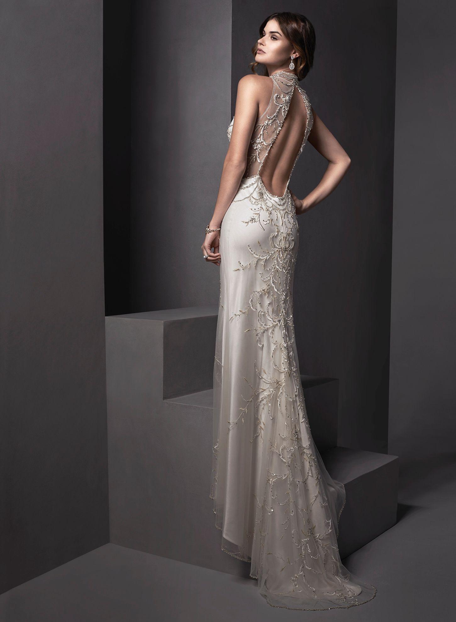 Mandarin collar robe de mariage peinture for Dallas de conservation de robe de mariage