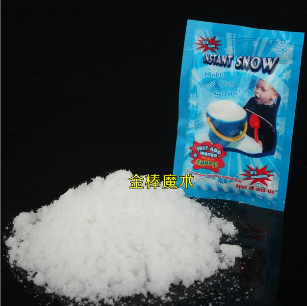 Christmas toy man made instant snow diy magic prop