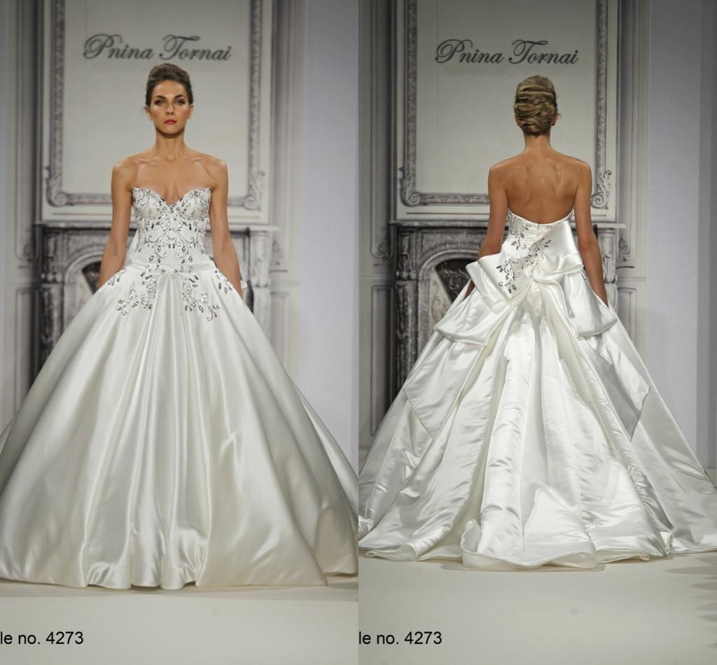 Charming Pnina Tornai 2015 Wedding Dresses Ball Gowns