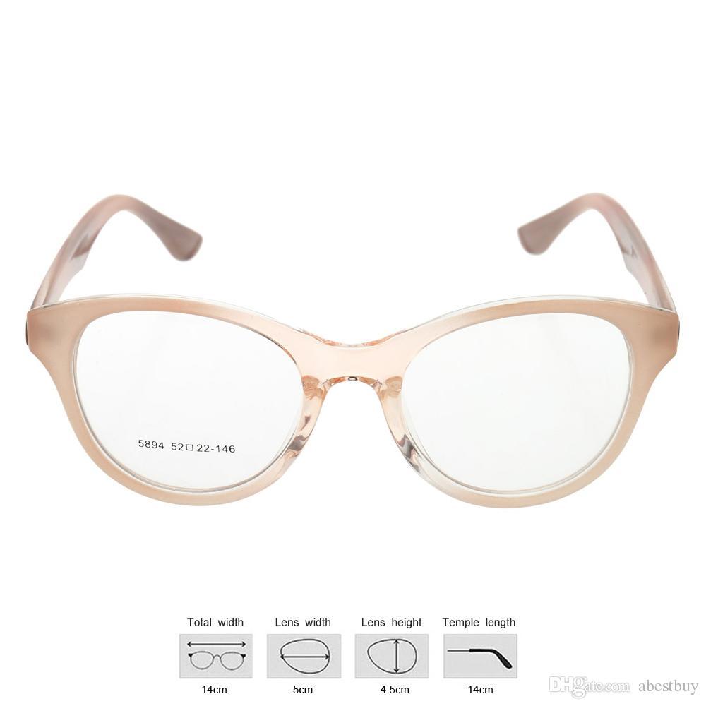 Big Blue Glasses Frames : Fashionable Gradient Color Big Lenses Eyeglasses Glasses ...