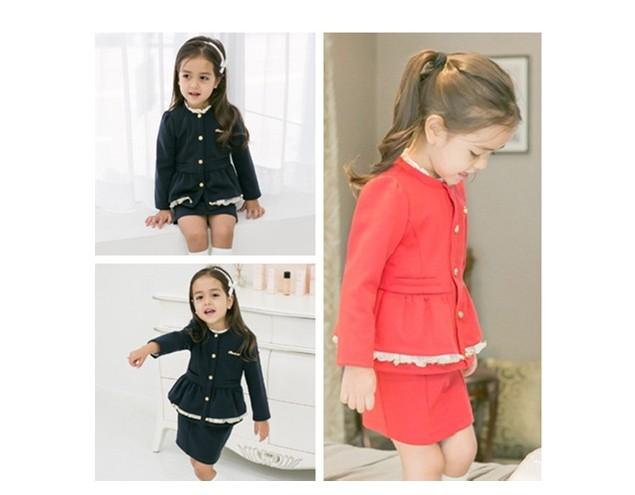 Tremendous 2017 Preppy Look Girls Kids Korean Clothing Long Sleeve Lace Hairstyles For Men Maxibearus