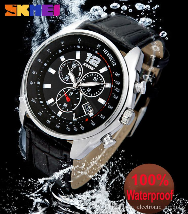 luxury watch waterproof men watch fashion large dial calendar luxury watch waterproof men watch fashion large dial calendar quartz watch business vintage students watches
