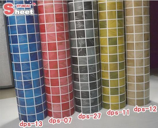 10m washable wallpaper for kitchen instant mosaic self adhesive waterproof vinyl bathroom papel - Washable wallpaper ...